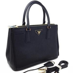 Prada Saffiano Leather Tote Bag Black ( More Styles Available)