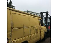 Mercedes sprinter 212d 2.9 turbo write off..
