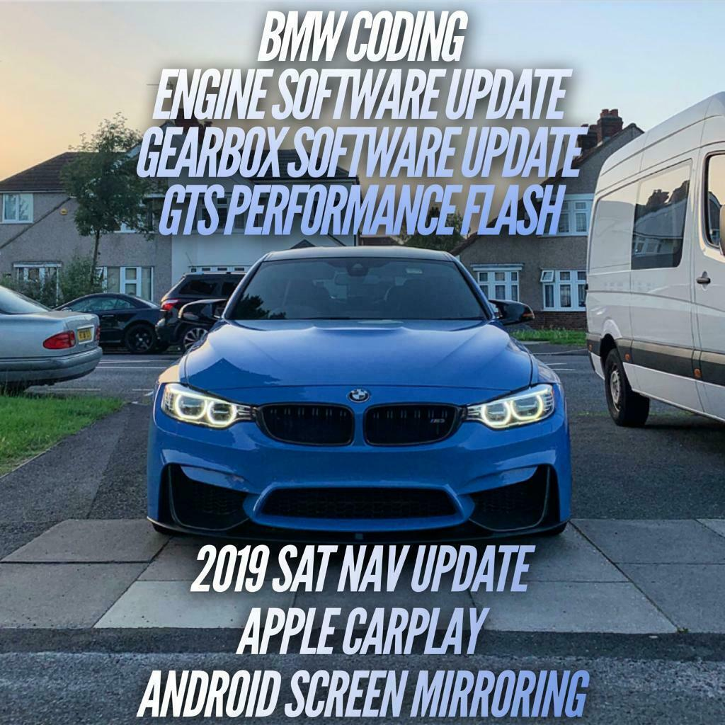 BMW Coding, Software Updates, Enhance Bluetooth, 2019 Sat Nav Updates,  Apple Play, GTS Flash | in Stratford, London | Gumtree
