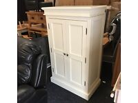 New small white wardrobe-- NEW