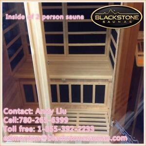 Far infrared two person sauna BOXING WEEK on sale $1999, was $2999