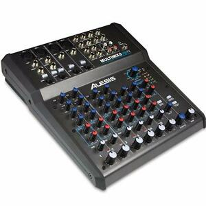 Alesis MULTIMIX 8 USB FX 8 Channel Mixer with Effects / USB Audio Interface ( Always New )