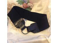 Wallis medium leather belt