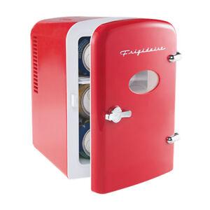New Frigidaire Retro Mini Beverage Refrigerator EFMIS129 Por