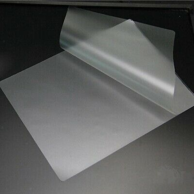 50 Pieces Thermal Laminating Pouch Film Sheet 100 Micron Pet Eva 3 Inch