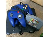 For Sale Nintendo64 with Mario Karts