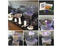Kenwood food processor with all accessories