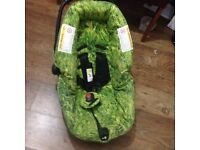 Reclining child car seat for sale