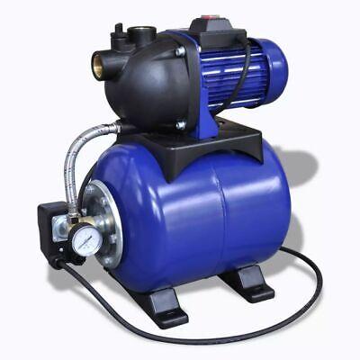 vidaXL Bomba de Pozo de ardín Eléctrica 1200 W Azul Motor de...