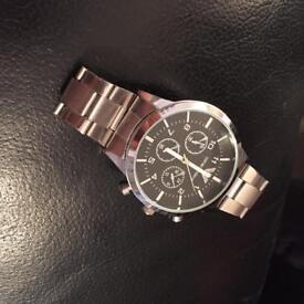 Emporium Armani quartz watch Good Condition