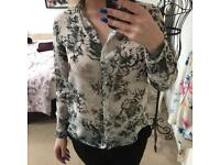 New look floral shirt