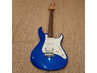 Yamaha Pacifica 012 Strat Type Electric Guitar Blue Metallic Full Size