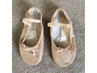 Size 13 ballet shoes pink leather