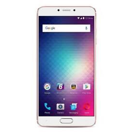 BLU VIVO 6 4G LTE SIM-Free Smartphone (64 GB and 4 GB RAM) - NEW, Gold,