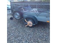 Aluminium trailer great condition only one year old
