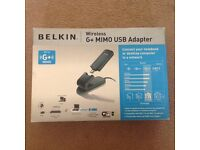 belkin wireless g+mimo USB adapter