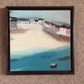Port Issac Canvas Print