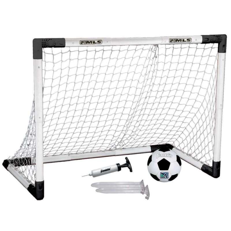 MLS Franklin Sports Insta-Set Soccer Goal and Ball Set
