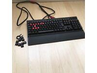 Corsair K70 Vengeance Mechanical Keyboard.