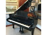 Black Lippmann baby grand | Belfast Pianos |
