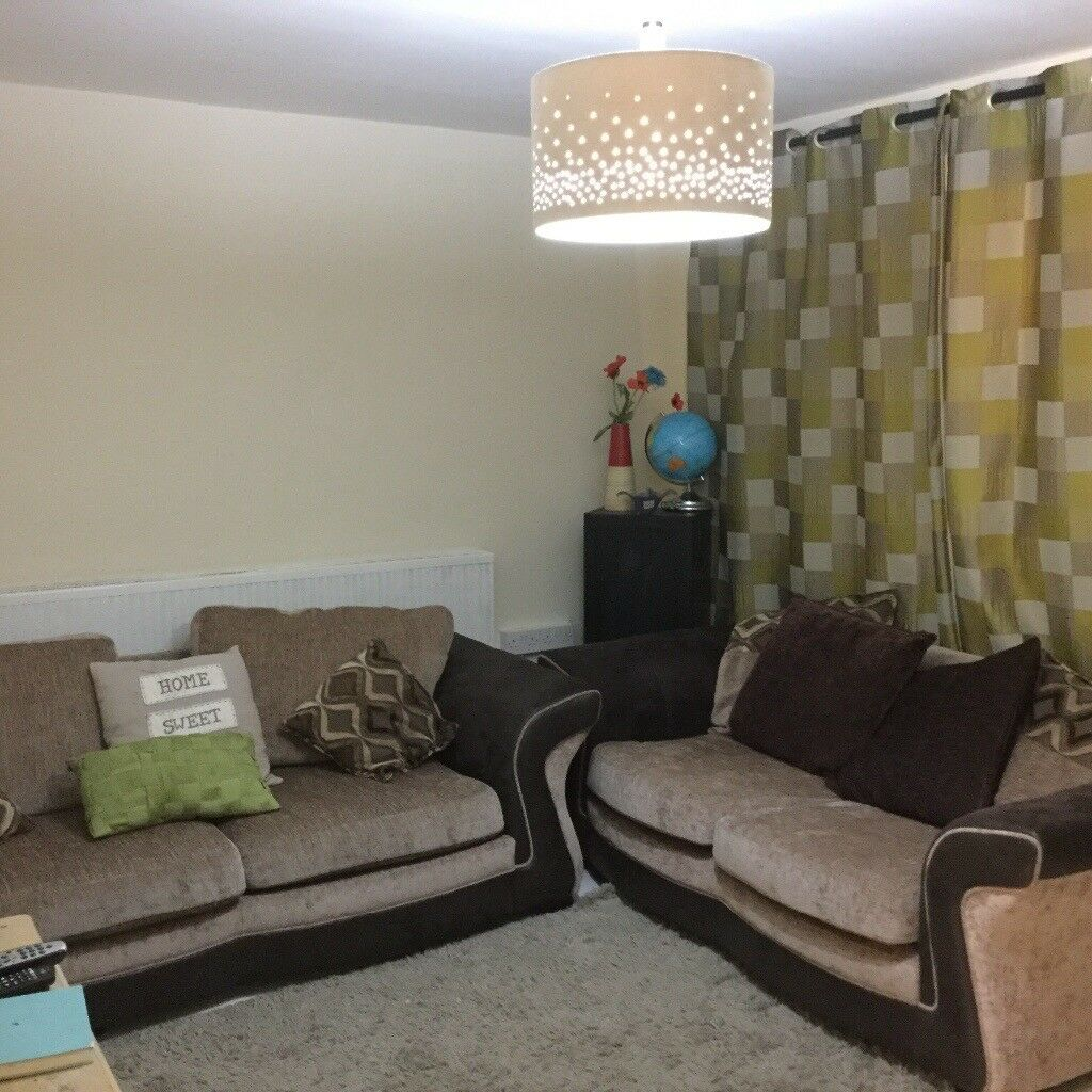 DFS 4 Seater Sofa Bed + 3 Seater Sofa