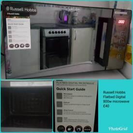 Russell Hobbs Flatbed Digital microwave