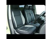 LEATHER CAR SEAT COVERS TOYOTA PRIUS FORD GALAXY VW VOLKSWAGEN SHARAN SHARON PASSAT PCO MINICAB