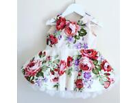 Large bundle of handmade girls clothes