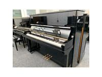 Hellas 129 Upright Piano Black Renner Hammers