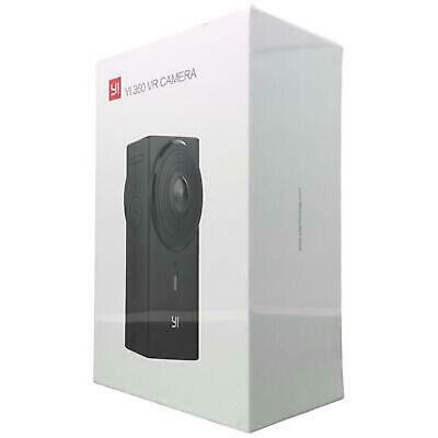 YI 360 VR Camera Dual-Lens 5.7K HI Resolution Panoramic Camera EIS 4K NEW WARNTY