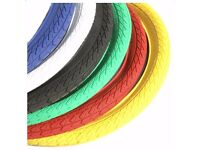 "Brand NEW BMX Tyre 20"" x 2.0 High Quality (3 colors - yellow, blue, black)"