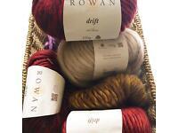 Rowan drift 100% wool