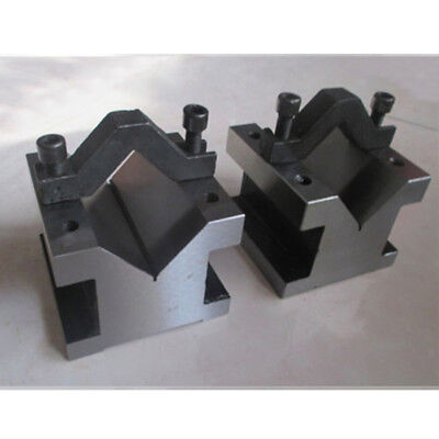 V Block with Clamp Set Toolmakers Vee Block 1-3/8''x1-3/8''x1-3/16'' for sale  Shipping to United Kingdom
