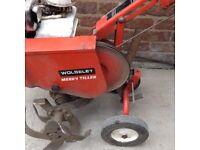 Wolseley merry tiler rotovator 4hp petrol