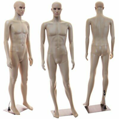 Male Full Bod Mannequin Base Head Rotates Realistic Looking Manikin1 Wig