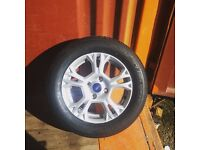 Ford Fiesta Alloy Wheel With Brand New tyre 7mm 195/60 R 15