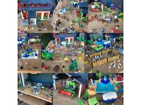 Large selection of Playmobile in great condition