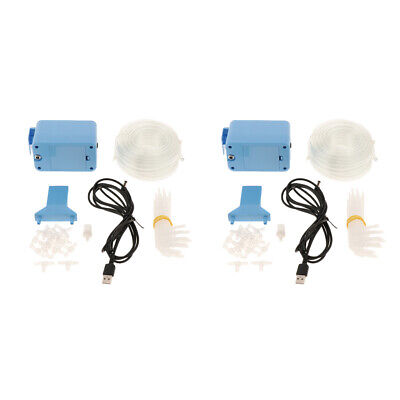 2 Kit Automatic Watering Pump Set Plant Watering Device Drip Watering System