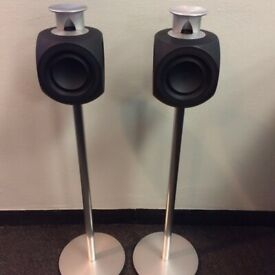 BANG AND OLUFSEN BEOLAB 3 ACTIVE SPEAKER WITH FLOOR STAND IN EXCELLENT CONDITION