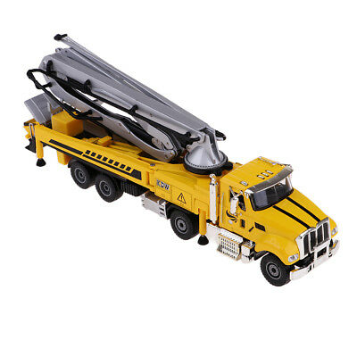 1:55 Alloy Engineering Truck Cement Pump Vehicle Toy Children Toy Model ()