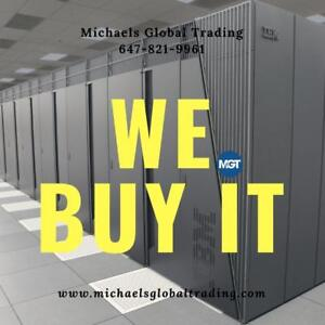 We Buy All Computer & Networking Equipment - Michaels Global Trading
