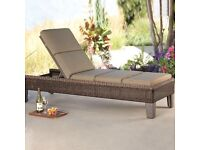 Braeburn Woven Chaise Lounge NEW BOXED
