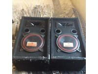 8ich speakers and amp