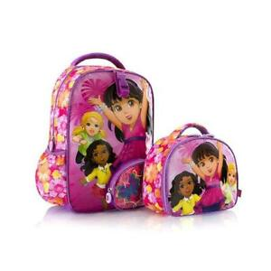 Heys Nickelodeon Backpack/Lunch Bag - Dora Unique Character Kids Backpacks 15 Inch