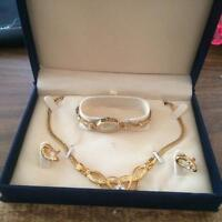 Watch, necklace and Earrings set