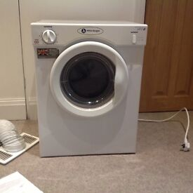 Mini tumble dryer for sale holds 3kgs . Height - 67cm, width50cm and depth 47 cm