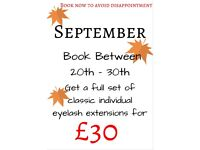 Classic Individual Eyelash Extensions