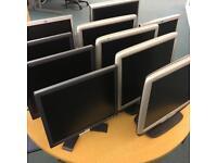 Computer Monitors 17 - 19 inch Dell, HP, Hanns.G, DGM