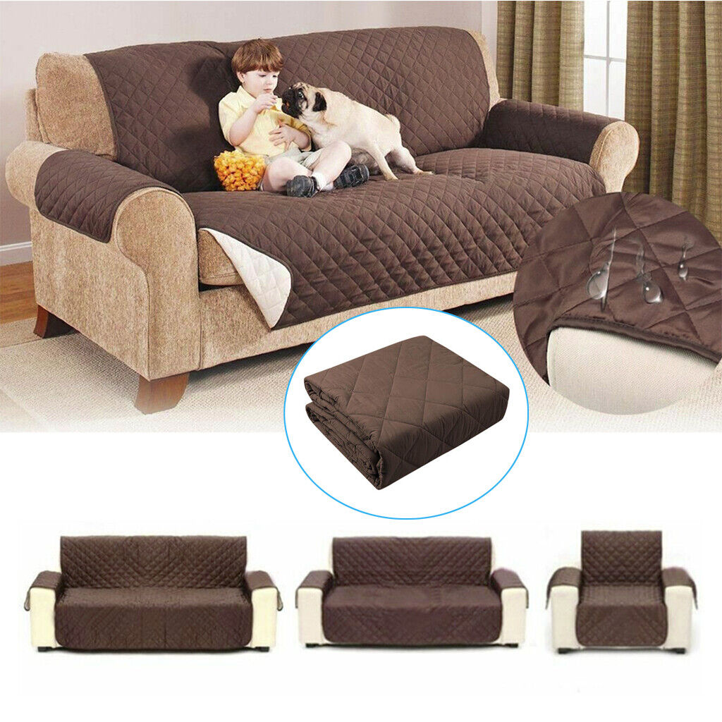Pet Dog Waterproof Sofa Cover Chair Couch Slipcover Kids Mat Furniture Protector