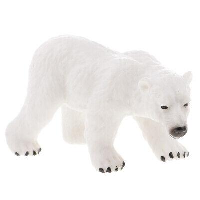 Polar Bear Wild Zoo Animal Model Figure Crafts Children Educational Toys - Zoo Animal Crafts